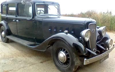 Lot 57-1938 Austin 20/6 Landaulette