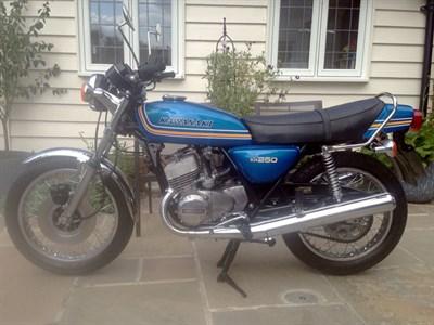 Lot 31-1976 Kawasaki KH250