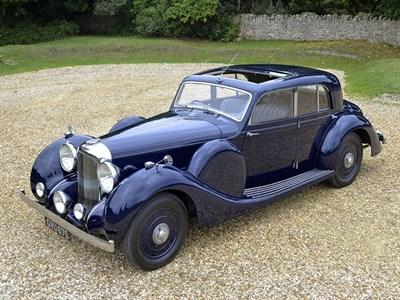 Lot 75-1938 Lagonda V12 Sports Saloon