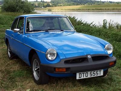Lot 8-1979 MG B GT