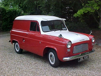 Lot 42-1959 Ford Thames 300E