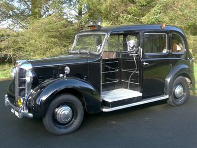 Lot 34-1956 Austin FX3D Taxicab