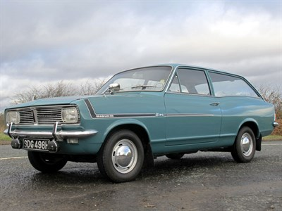 Lot 49-1969 Vauxhall Viva HB 90 Deluxe Estate