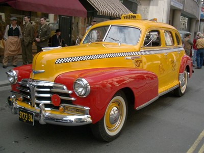Lot 51 - 1948 Chevrolet Fleetmaster Taxicab
