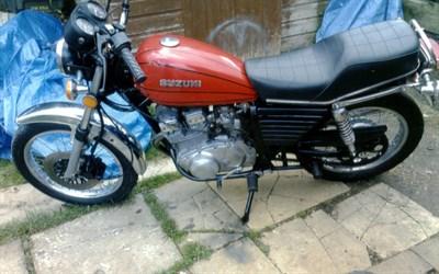 Lot 9 - 1980 Suzuki GSX 250 T
