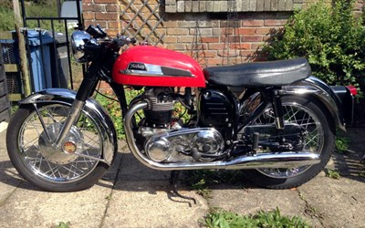 Lot 6-1962 Norton Atlas