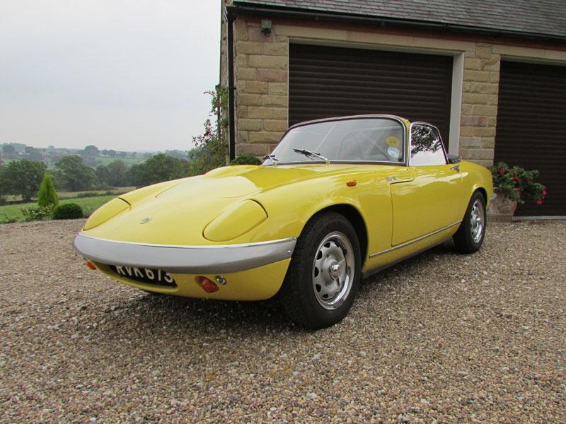 Lot 69-1968 Lotus Elan S3 SE Convertible