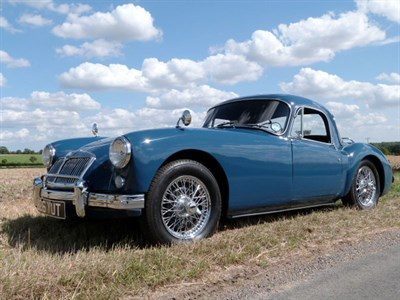 Lot 14-1958 MG A 1500 Coupe