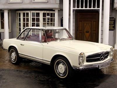 Lot 88-1971 Mercedes-Benz 280 SL