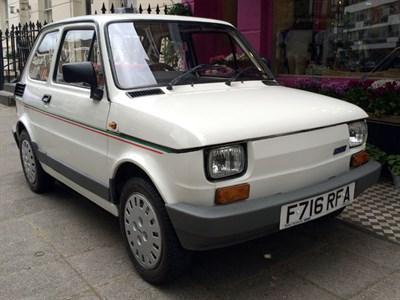 Lot 6-1989 Fiat 126 BIS