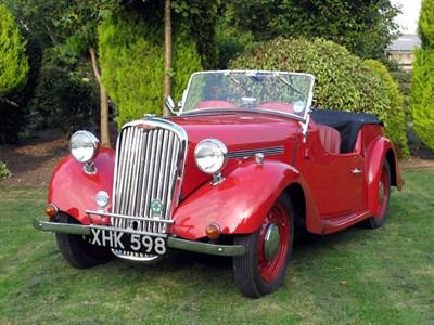 Lot 15-1949 Singer Nine 4A Tourer