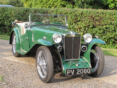 Lot 17 - 1935 MG PA Four-Seater Tourer