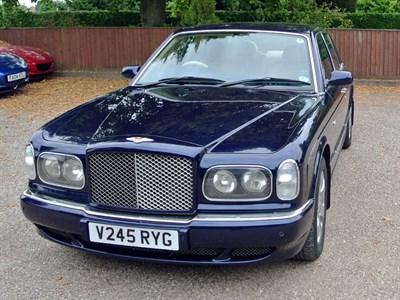 Lot 93-2000 Bentley Arnage Red Label