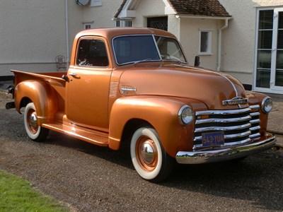 Lot 91-1950 Chevrolet 3100 Pickup