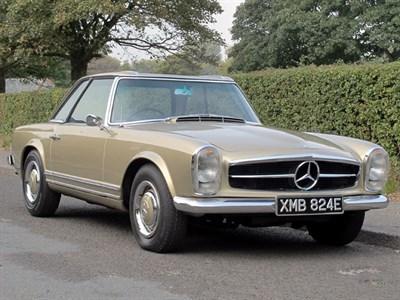 Lot 95-1967 Mercedes-Benz 250 SL