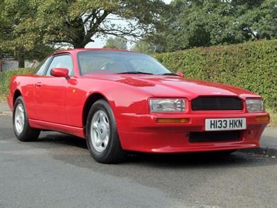 Lot 94-1991 Aston Martin Virage