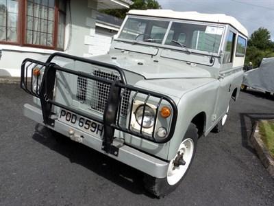 Lot 9-1969 Land Rover 88 Series IIA
