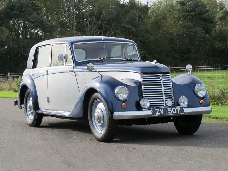 Lot 28-1952 Armstrong Siddeley Whitley 18hp Saloon