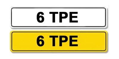 Lot 5 - Registration Number 6 TPE