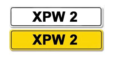 Lot 3 - Registration Number XPW 2