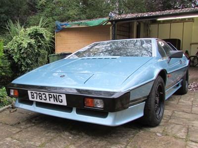 Lot 23-1984 Lotus Esprit Turbo