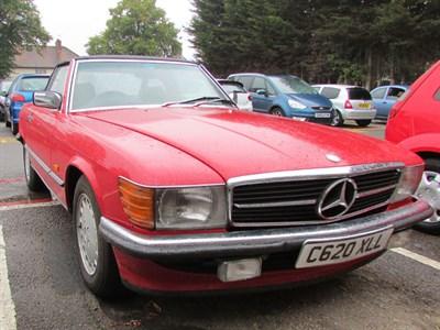 Lot 40-1984 Mercedes-Benz 420 SL