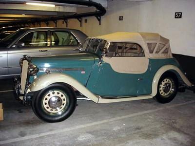 Lot 54-1950 Singer Nine 4A Tourer