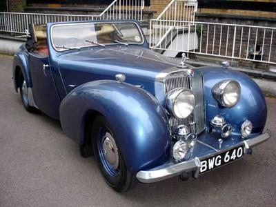 Lot 28-1948 Triumph 2000 Roadster