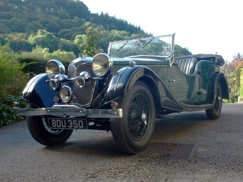 Lot 65-1935 Riley 12/4 Tourer
