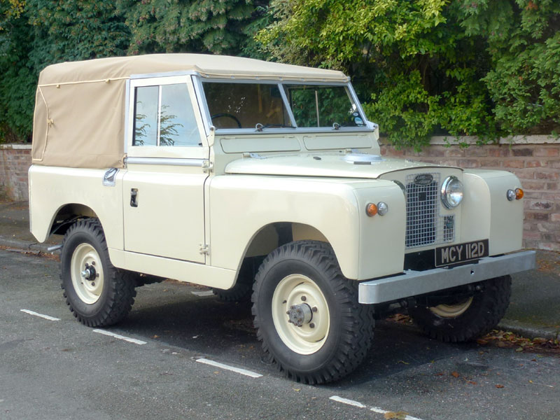 Lot 63-1966 Land Rover 88 Series IIA