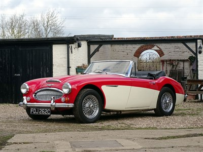 Lot 33-1965 Austin-Healey 3000 MKIII