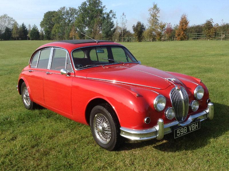 Lot 23-1961 Jaguar MK II 3.4 Litre