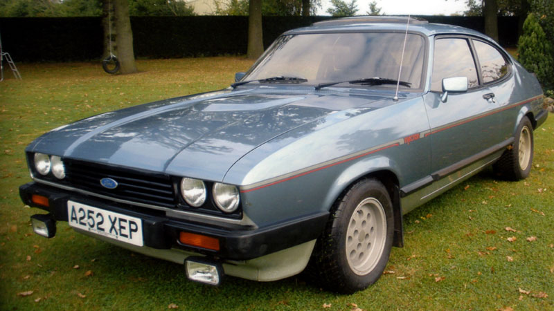Lot 51-1984 Ford Capri 2.8i
