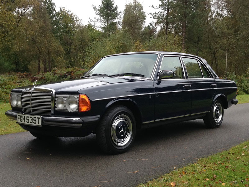 Lot 49-1978 Mercedes-Benz 230 Saloon