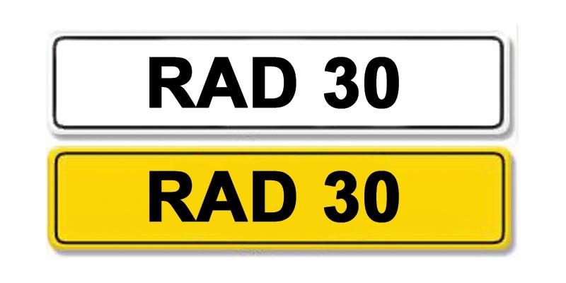 Lot 8 - Registration Number RAD 30