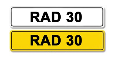 Lot 8 - Registration Number RAD 30