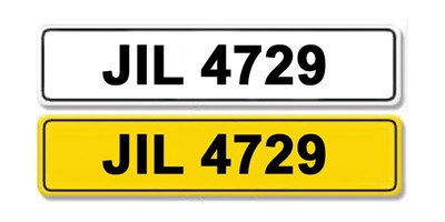 Lot 5 - Registration Number JIL 4729