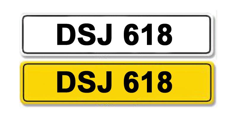 Lot 1 - Registration Number DSJ 618