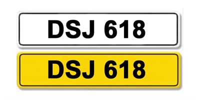 Lot 1 - Registration Number DSJ 618
