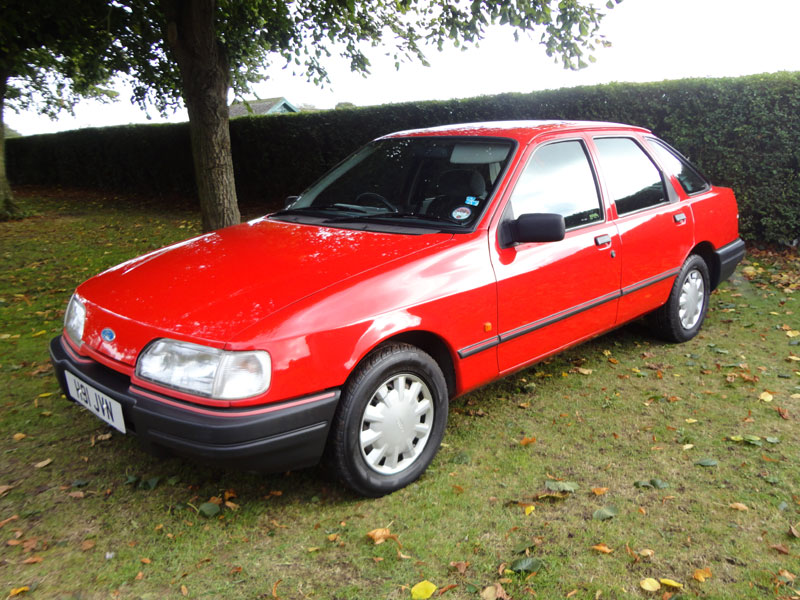Lot 78-1990 Ford Sierra 1.8 LX
