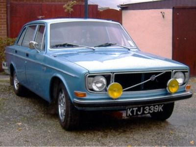 Lot 77-1972 Volvo 144 GL