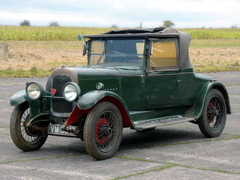 Lot 70-1928 Alvis 12/50 TG Two-Seater
