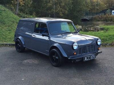 Lot 11-1963 Morris Mini Van