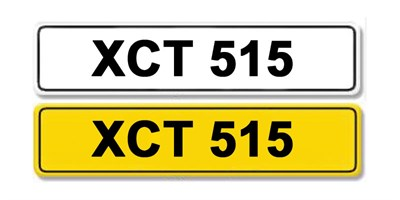 Lot 3 - Registration Number XCT 515