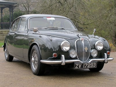 Lot 9-1968 Jaguar 240