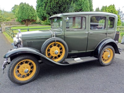 Lot 24-1930 Ford Model A Saloon