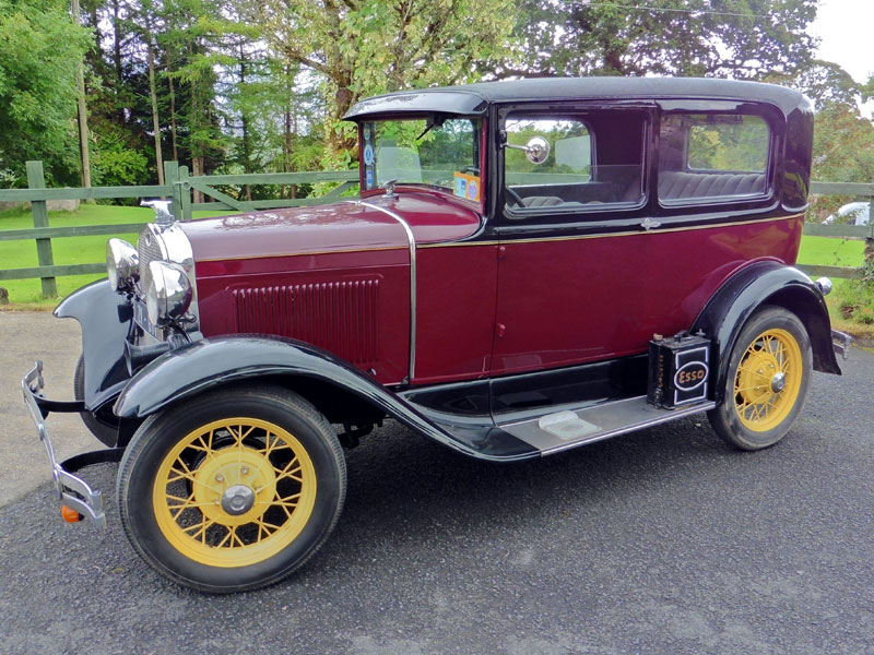 Lot 29-1930 Ford Model A Saloon