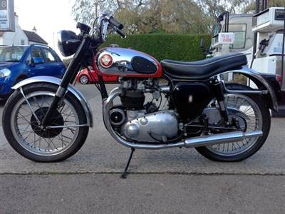 Lot 4-1954 BSA A10 Road Rocket