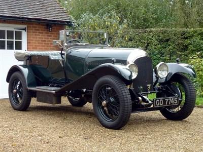 Lot 64-1927 Bentley 3 Litre Speed Model Tourer