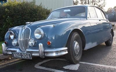 Lot 37-1960 Jaguar MK II 2.4 Litre